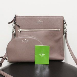 Kate Spade Leather Crossbody with coin Purse